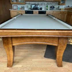 8 foot slate Spenser Marston pool table
